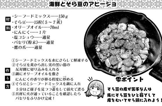 「ふたりソロキャンプ7巻」レシピ