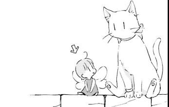 「復讐を誓った白猫は竜王の膝の上で惰眠をむさぼる」ルリ猫